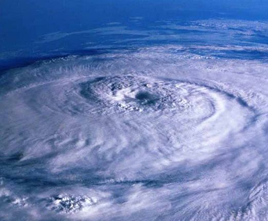 猛烈な台風
