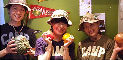 camp express_店員